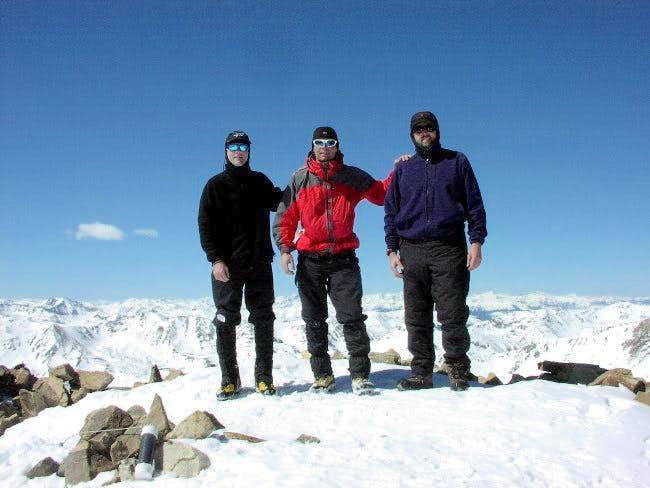 Summit of Mt.Elbert 03/21/04