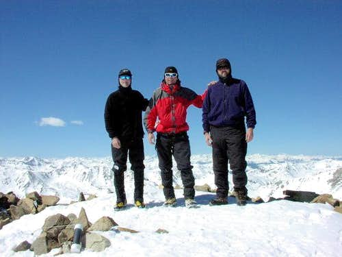 Summit of Mt.Elbert 03/21/04