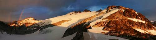 Rainbow over Mt. Challenger