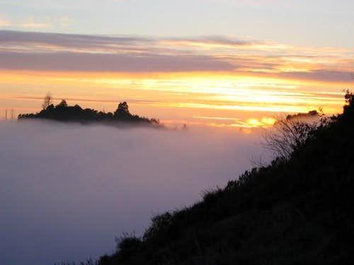 The beauty of Cone Peak lies...