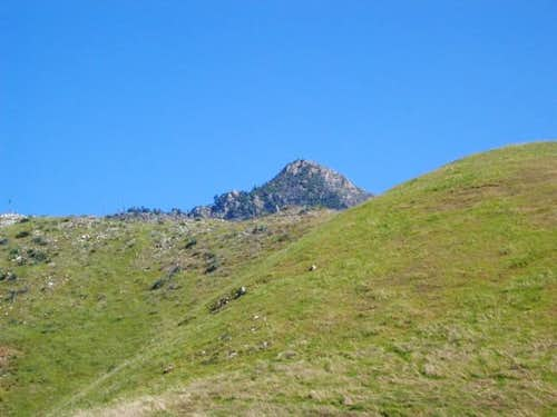 Here it is the mighty cone peak