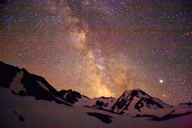 Milky Way over Olympic Mtns