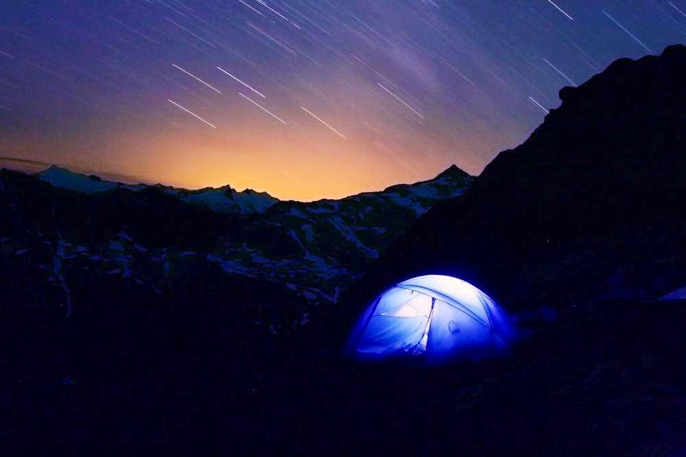 High Camp on Eldorado