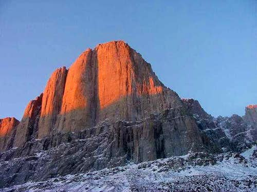 Great Sail Peak at sunrise....