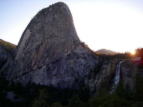 Liberty Cap and Nevada Falls