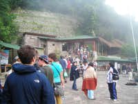 Waiting to Get Into Machu Picchu