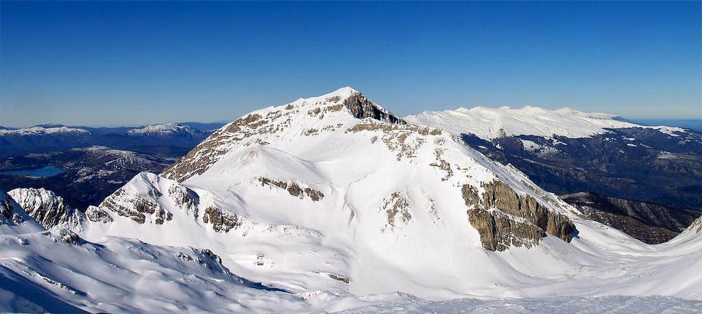 Monte Corvo south-east side