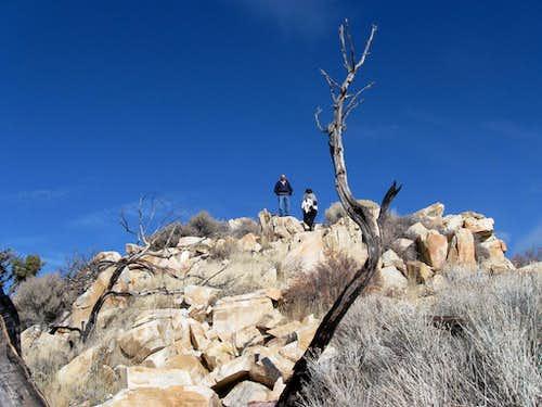 Top of Castle Rock