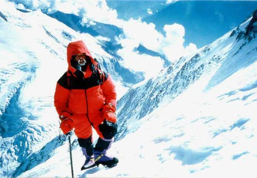 Rob Green on Dhaulagiri