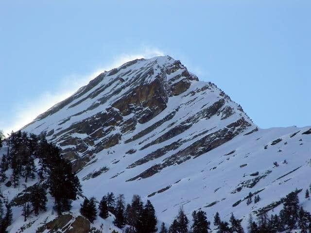 la punta di Loie (2676 m.)