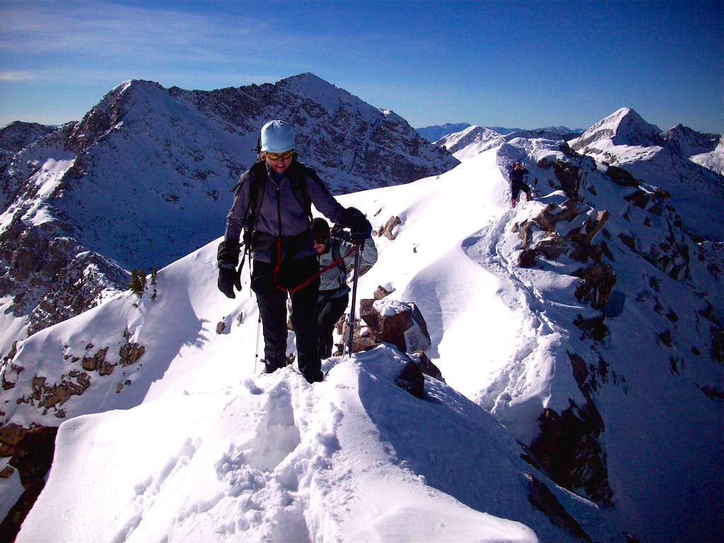 Red Baldy ridge traverse