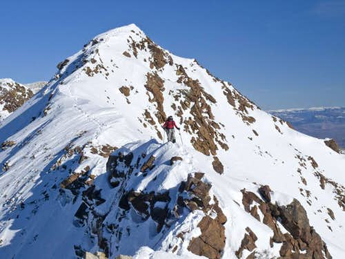 Traversing the Summit Ridge