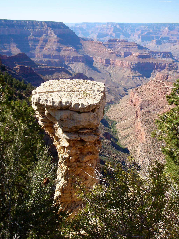 South Rim pedestal