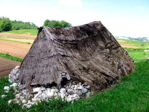 Shepherd's hut ...