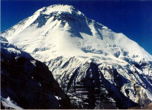 Dhaulagiri from the French Col