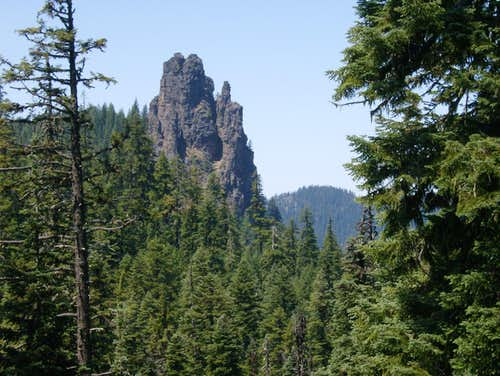 Castle Rock (SW Oregon)