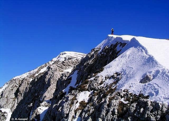 Postak summit climb