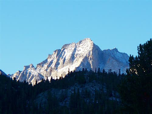 Early Morning Sun on Bear Creek Spire