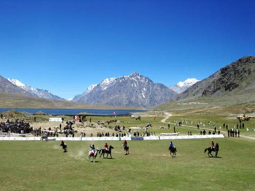 Shandur Polo, Pakistan