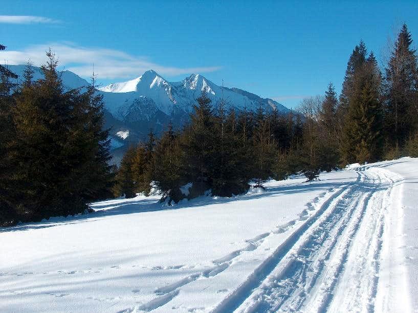The White Tatras from Bukovina, in Spišská Magura