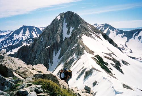 The Pfeifferhorn From Peak 11,101