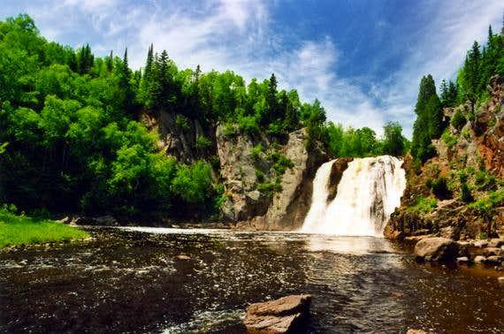 High Falls, Tettegouche State Park