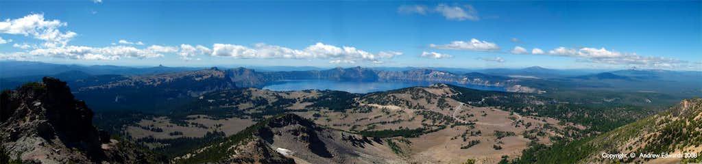Mount Scott Summit Pano