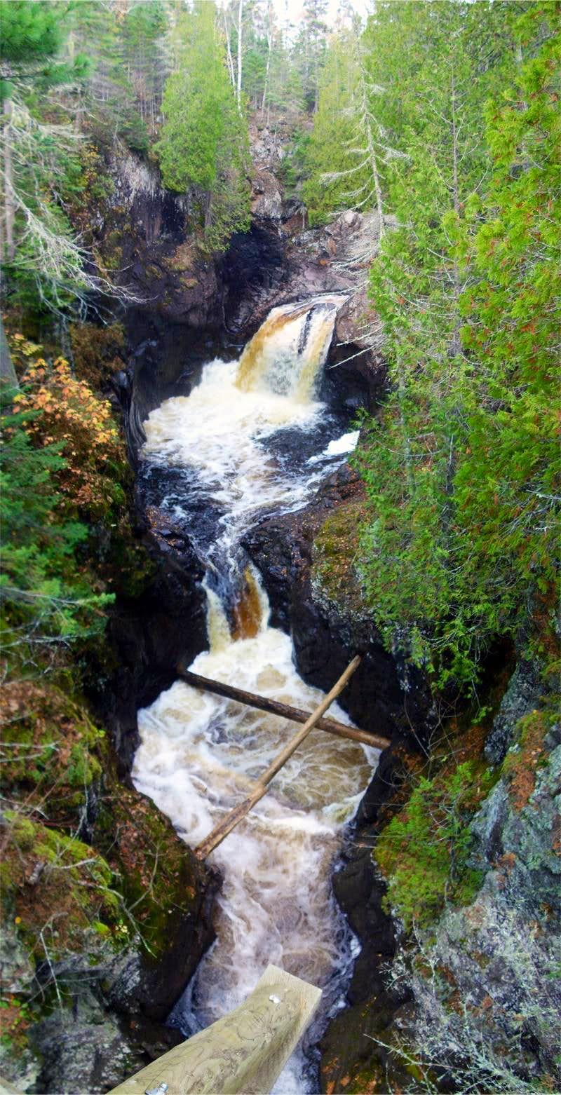 Falls - Cascade River State Park