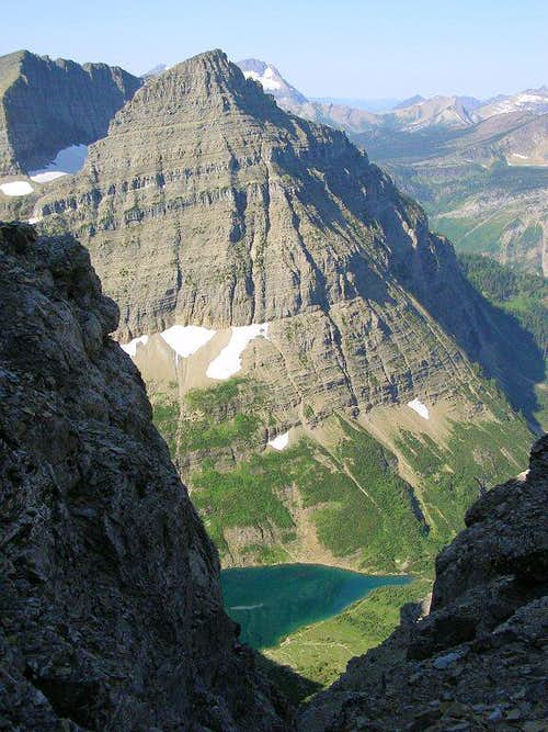 Stoney Indian Lake from the notch