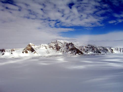 The Ellsworth Mtns, Antarctica