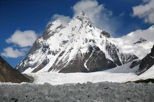 Un-Climbed Kharut Peak (6805-M), Karakoram, Pakistan