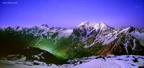 Caucasus - Colors of the Night...