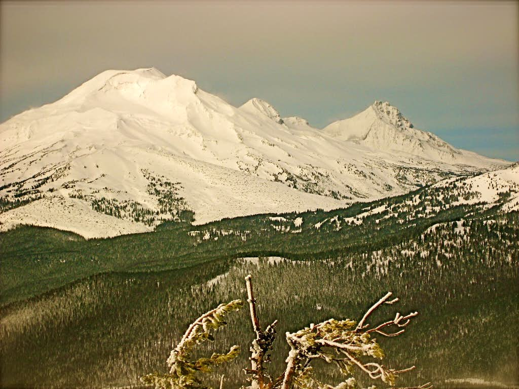 View of South Sister from Mt. Bachelor