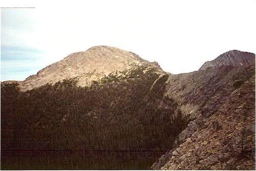 Warren Peak seen from the...