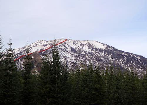 Monitor Ridge Route