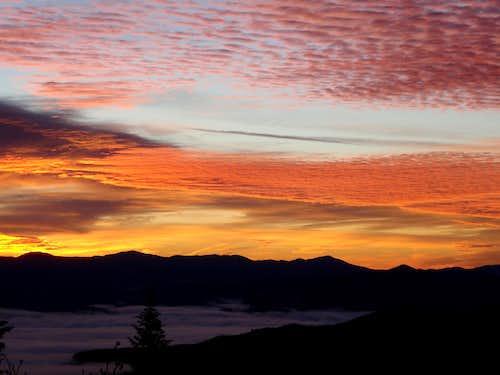Bright Clouds Over Oregon