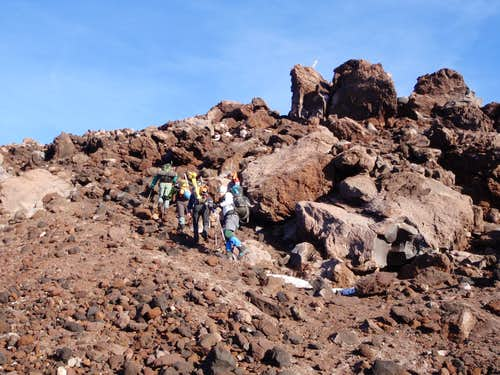 Loose Volcanic Rock
