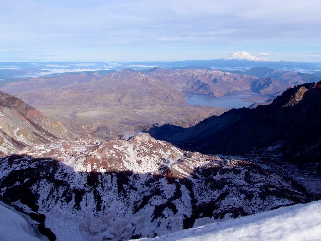 Lava Dome, Spirit Lake, Raineir
