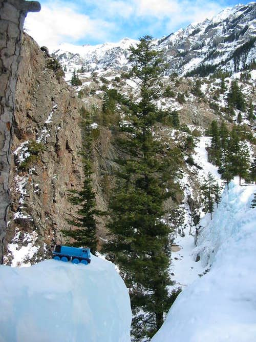 Gordon topping out in Ouray