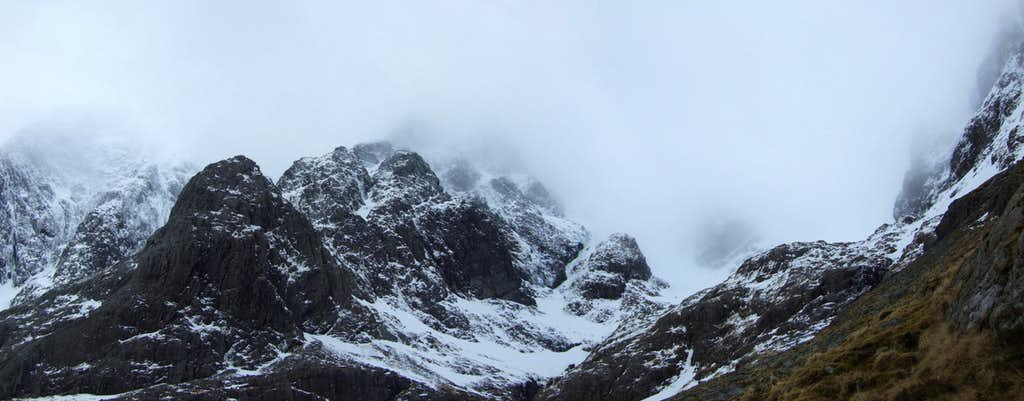 Coire na Ciste and Tower Ridge
