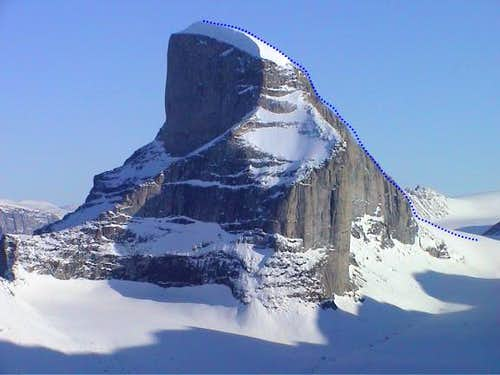 This peak (which looks like...