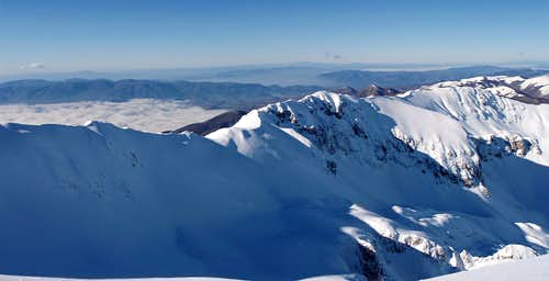 Sassetelli ridge panorama