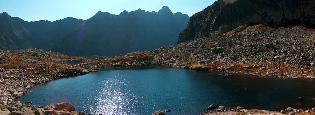 Lake Sivé Pleso, in the valley Veľká Studená Dolina