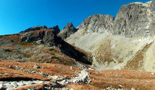 In the valley Veľká Studená Dolina