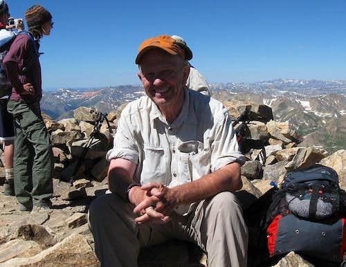 Mt. Elbert joy