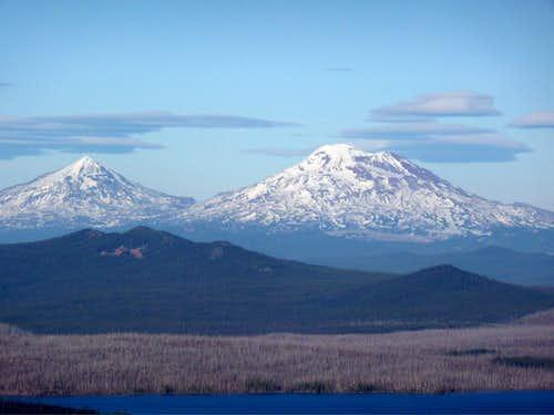 Three Sisters, Oregon cascades