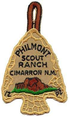 Philmont Arrowhead Patch