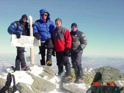 February 2004, Summit picture...