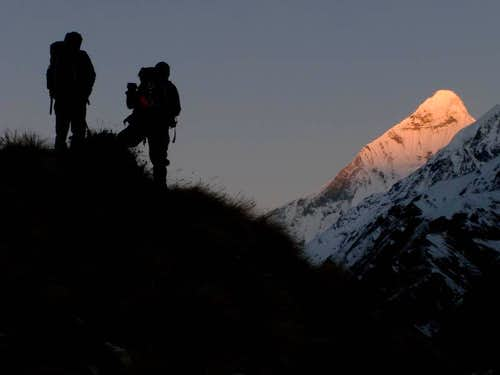 nanda devi climbing hiking amp mountaineering summitpost
