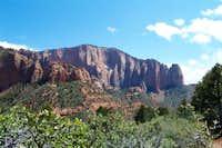View of Shuntavi Butte, Zion...